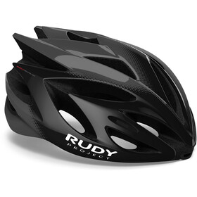Rudy Project Rush Fietshelm, black/titanium shiny